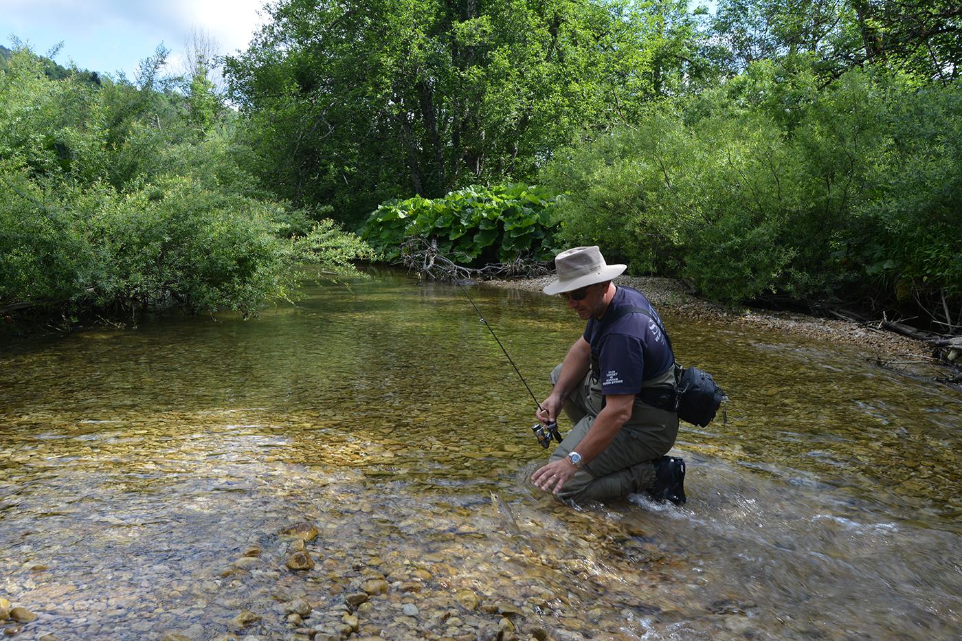 tondeur olivier moniteur guide de pêche