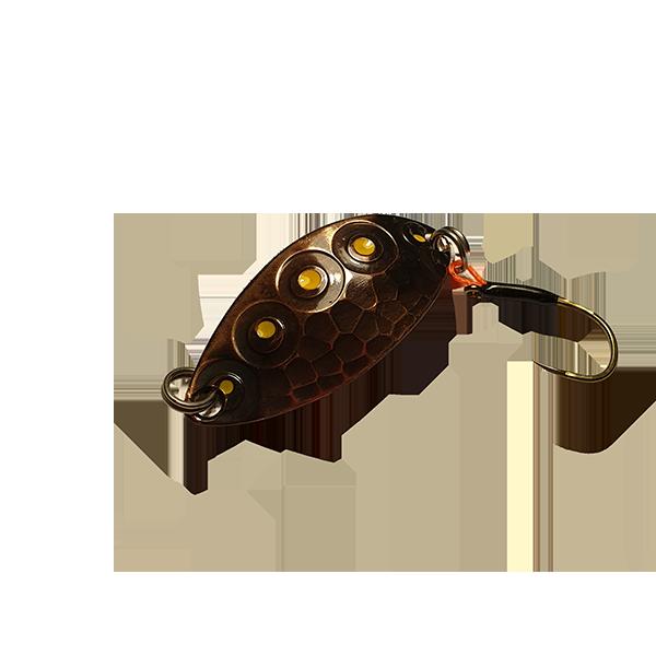 cuillère ondulante truite