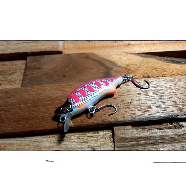 poisson nageur rose fait main