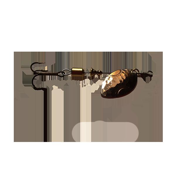 cuillère tournante truite