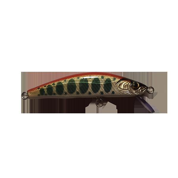 leurre pêche truite fait main destiné aux pêches délicates et difficiles des truites sauvages. Animations en twitch pour ce leurre heavy sinking.