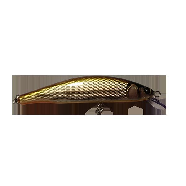 leurre pêche truite fait à la main. Il est redoutable sur les pêches fortes des grosses truites. Sa nage est extrêmement riche en animations diverses.