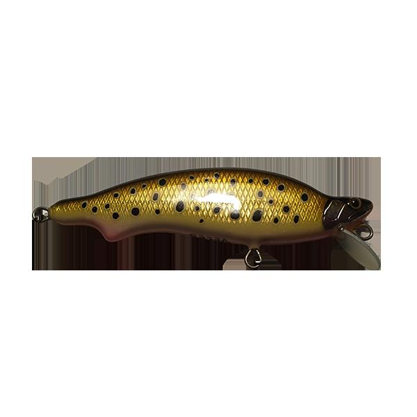 poisson nageur artisanal fabriqué à la main pour pêcher la truite en rivière