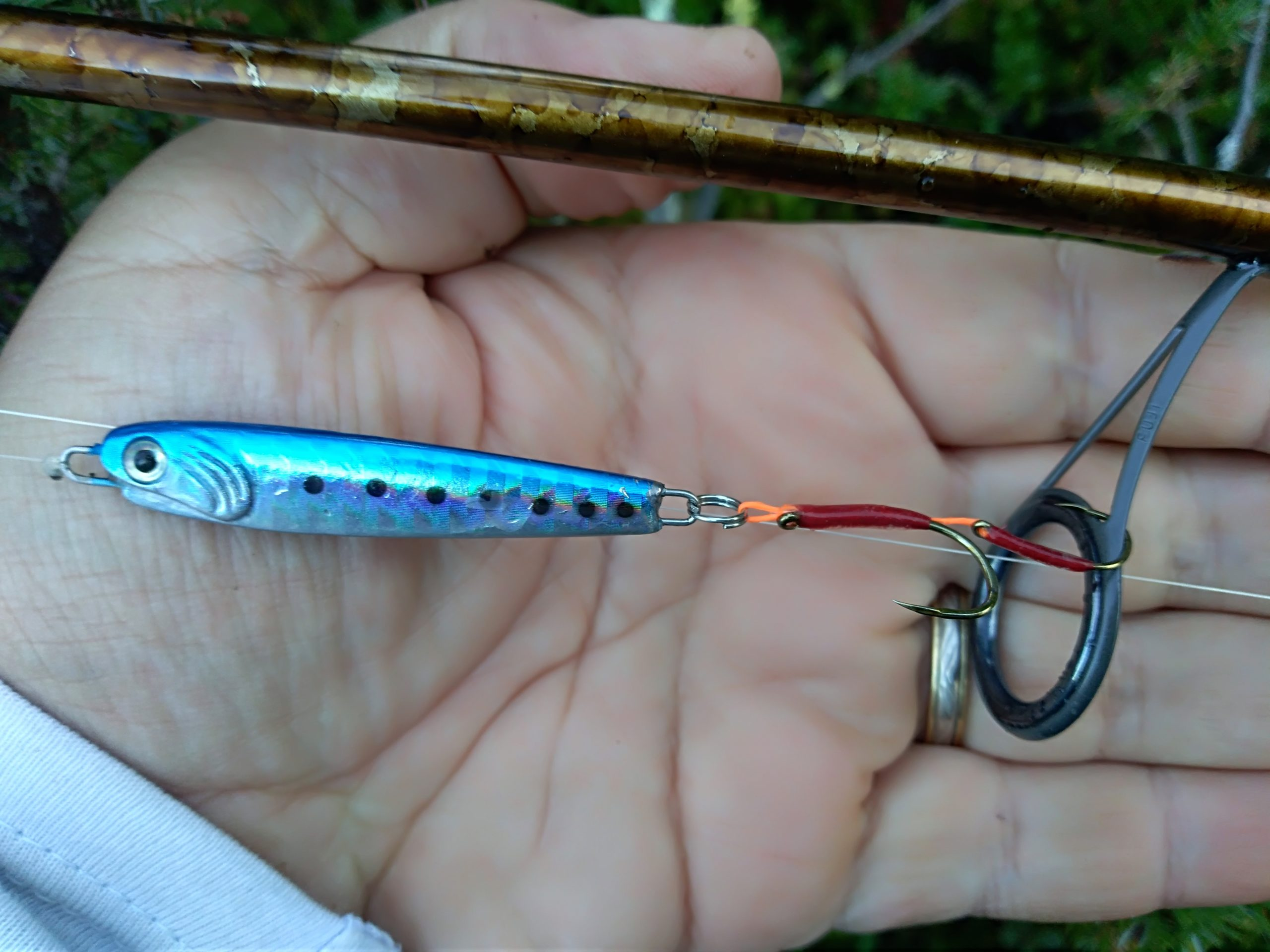 double assist truite au casting jig