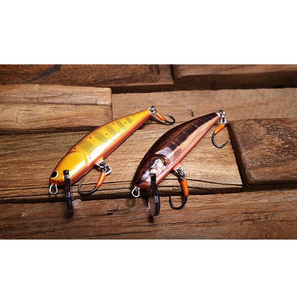 poisson nageur imitation vairon pour la pêche au leurre de la truite