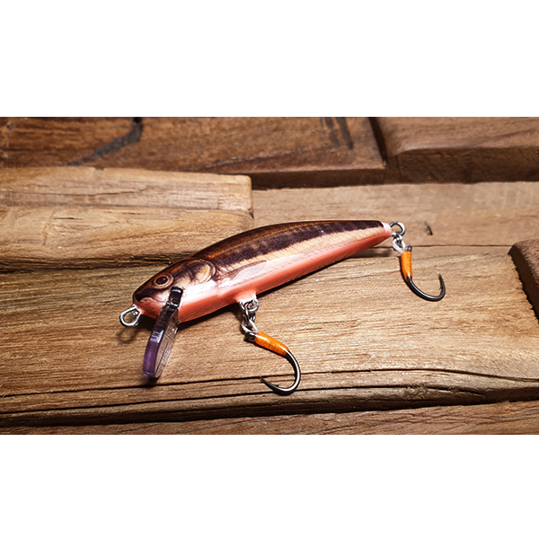 poisson nageur fait main imitation vairon