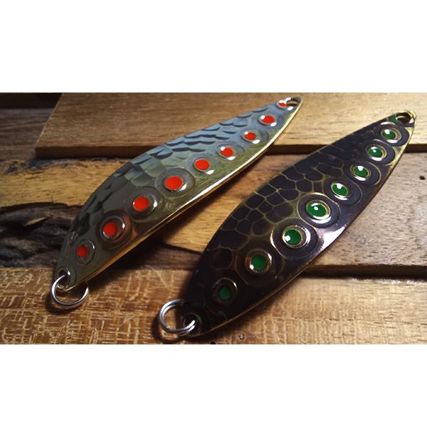 Le top des cuillères ondulante pour la pêche.