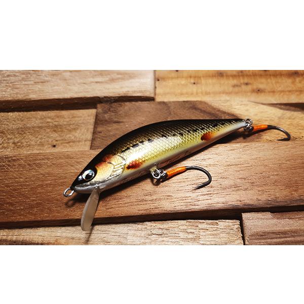 Imitation poisson nageur vairon fait à la main