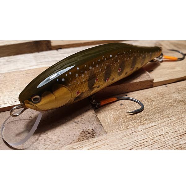 poisson nageur coloris truite doré pour grosse truite