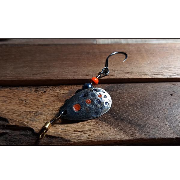 cuillère tournante faite à la main pour la pêche de la truite