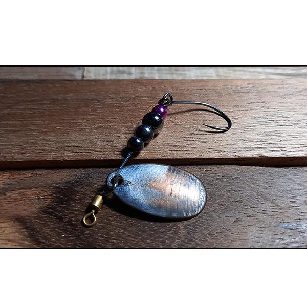 cuillère tournante faite à la main par un maître artisan d'art