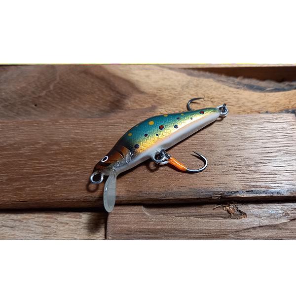 poison nageur pêche truite fait main haut de de gamme bois