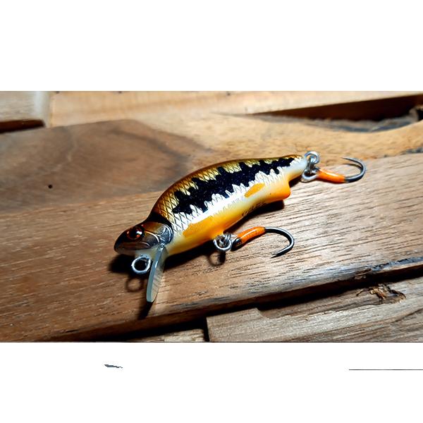 poisson nageur leurre truite fait main